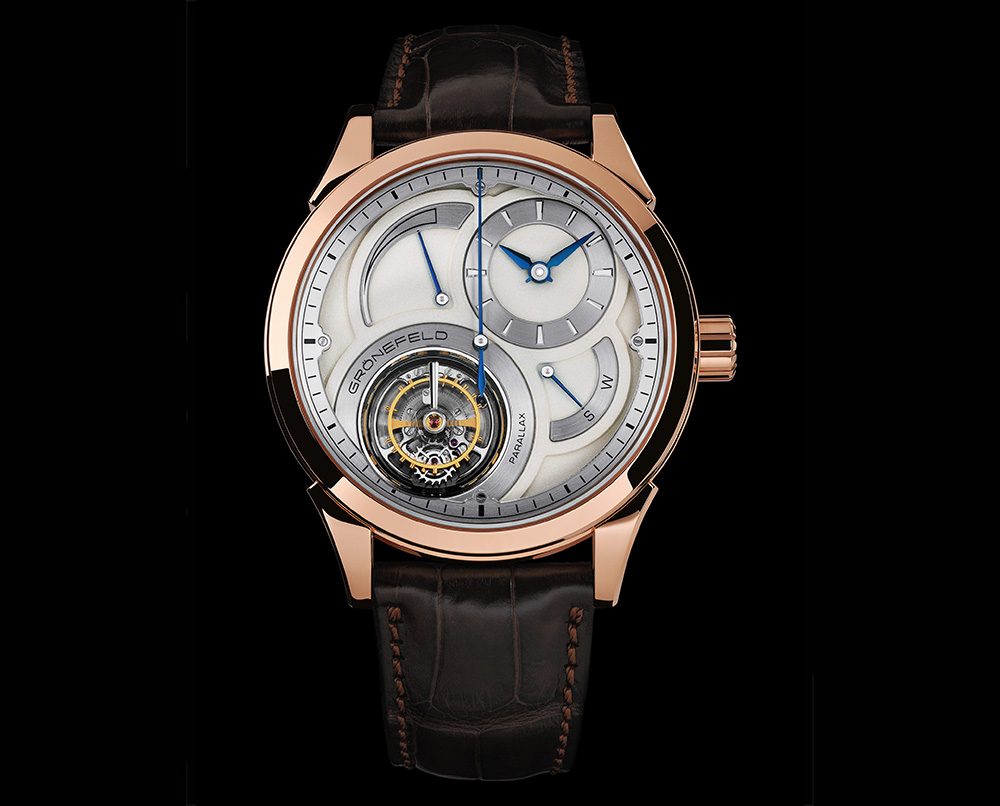 Grönefeld - Parallax Tourbillon Or Rose