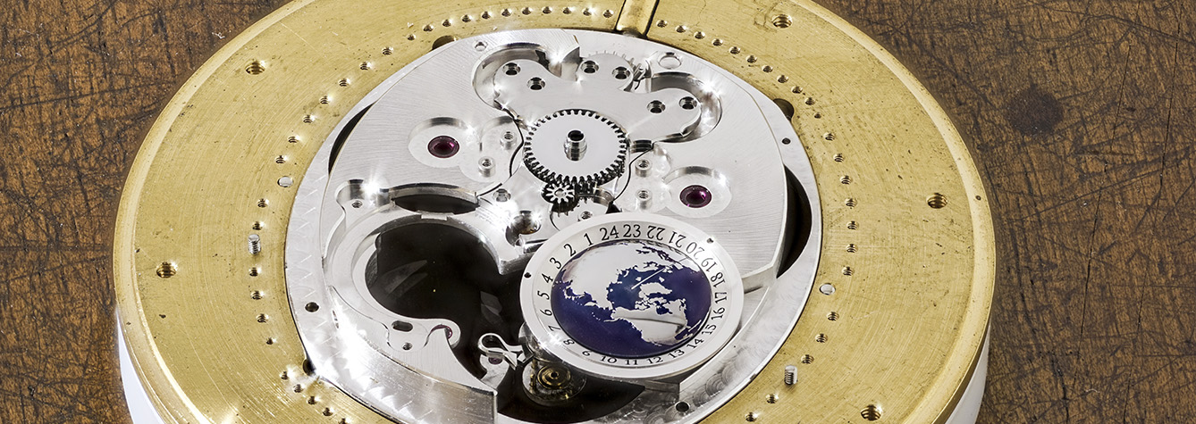 Andreas Strehler - Sauterelle Heures Mondiales